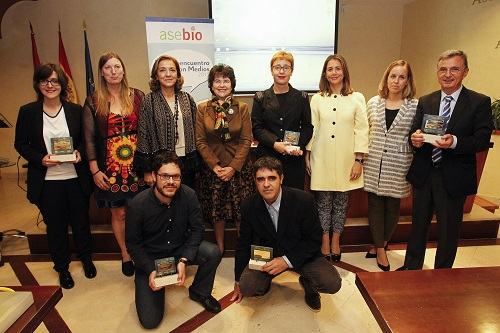 Spain_Winners of six prizes of ASEBIO Awards for Communication and Dissemination of Biotechnology