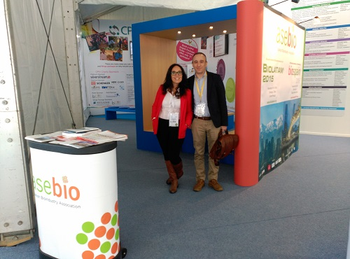 Spain_ASEBIO stand at CPhI Madrid 2015
