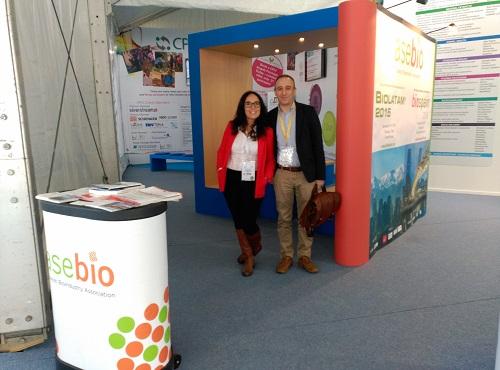 Spain_ASEBIO stand at CPhI Madrid 2015