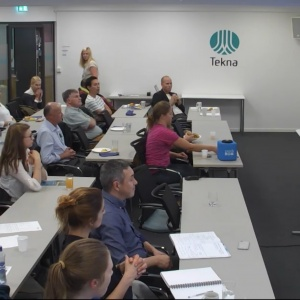 About 150 people attended three successful evening seminars organised by Tekna Biotek.