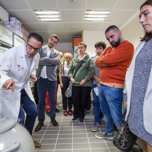 A Spanish multinational biotech company opened its doors to journalists.